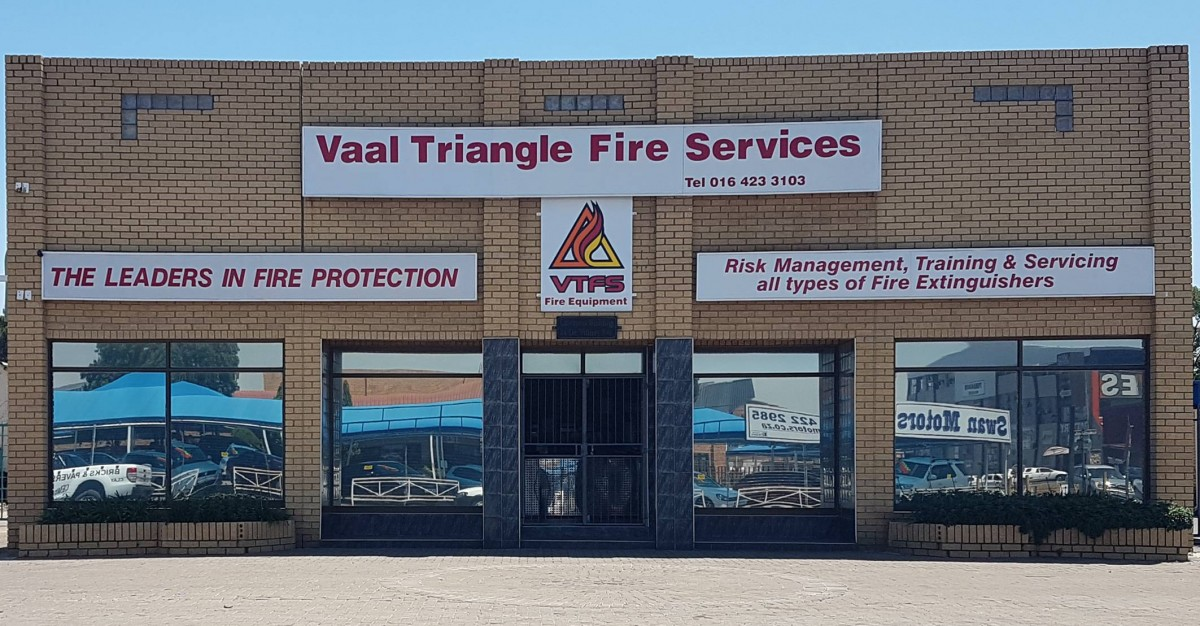 VAAL TRIANGLE FIRE SERVICES Offices ABOUT US
